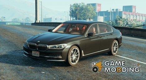 BMW 750Li (2016) for GTA 5