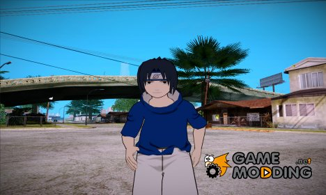 Sasuke Uchiha (Naruto) for GTA San Andreas