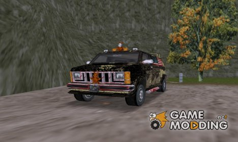 American Rebel Van для GTA 3