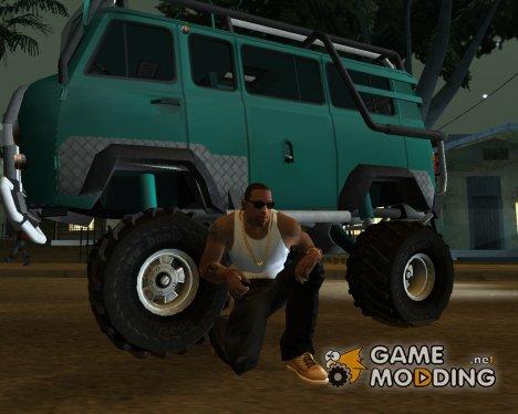 Пак автомобилей марки УАЗ для GTA San Andreas
