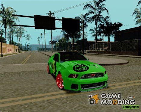 Ford Mustang Boss FD для GTA San Andreas