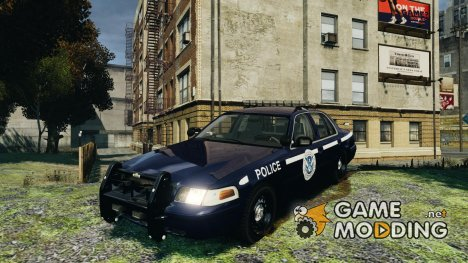 Ford Crown Victoria Homeland Security для GTA 4