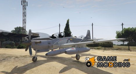 Embraer A-29B Super Tucano House for GTA 5