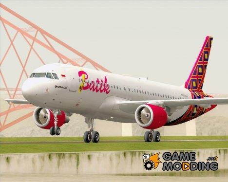 Airbus A320-200 Batik Air for GTA San Andreas