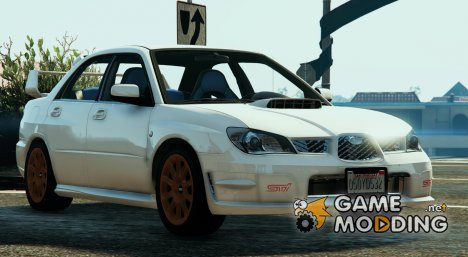 2006 Subaru Impreza WRX STi for GTA 5