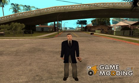 Счастливый мужик из Алиен сити для GTA San Andreas