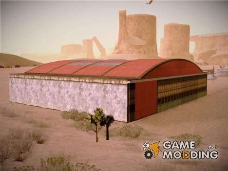 HD Desert Hangar Mipmapped for GTA San Andreas