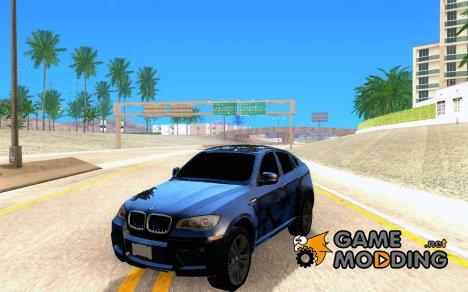 BMW X6M E72 for GTA San Andreas