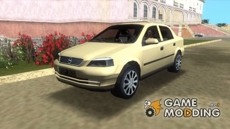 Opel Astra 4door 1.6 TDi Sedan для GTA Vice City
