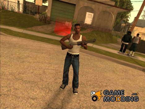 Animations from Beta version для GTA San Andreas
