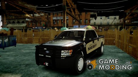 Ford F150 2010 Liberty County Sheriff для GTA 4