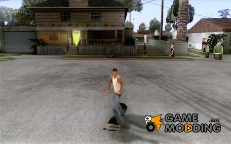 Snowboard for GTA San Andreas