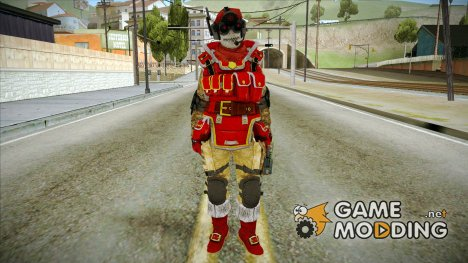 Новогодний скин из WARFACE для GTA San Andreas