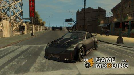 Nissan 350z Tokio Drift v2 для GTA 4