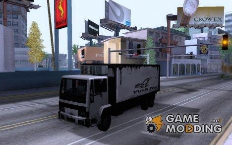 DFT30 Refrigerator Truck для GTA San Andreas
