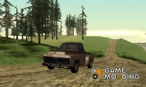 Slamvan by Vapid GTA V для GTA San Andreas