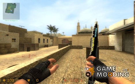 Simple GameBanana Knife Skin для Counter-Strike Source