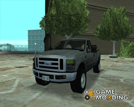 Ford F-350 Super Duty Regular Cab 2008 IVF+АПП for GTA San Andreas