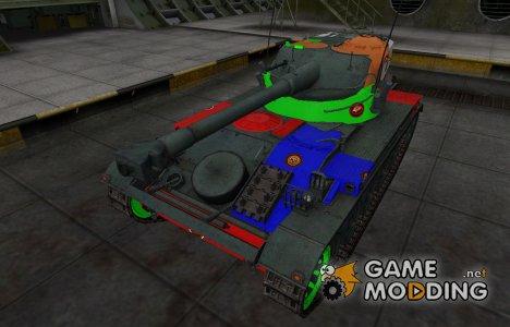Качественный скин для AMX 13 75 для World of Tanks