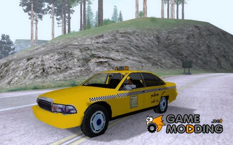 1992 Chevrolet Caprice Taxi for GTA San Andreas