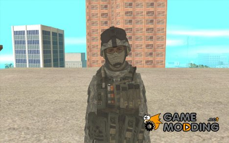 Скин пехотинца из CoD MW 2 for GTA San Andreas