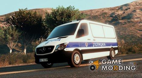 Serbian Police Van - Srpska Marica для GTA 5