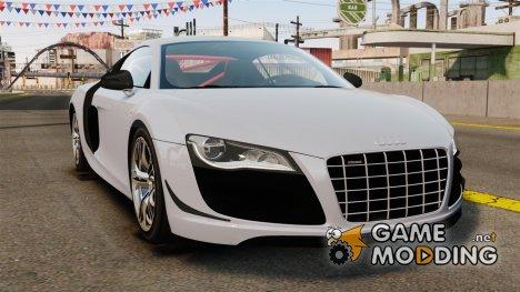 Audi R8 GT Coupe 2011 для GTA 4