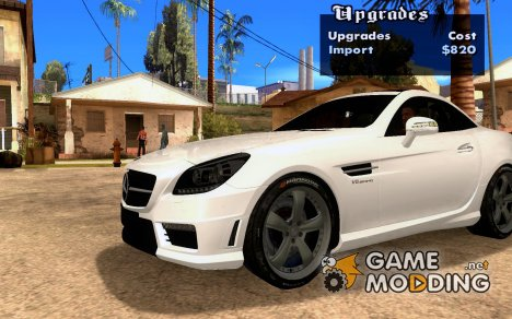 NFS SHIFT WHEELS MOD для GTA San Andreas