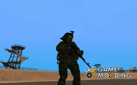 Modern army skin of Russia для GTA San Andreas