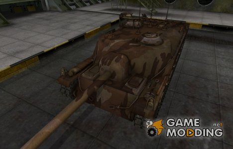 Шкурка для американского танка T28 для World of Tanks