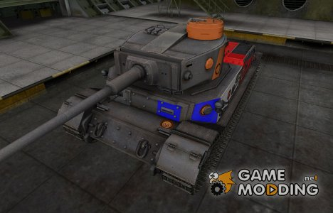 Качественный скин для PzKpfw VI Tiger (P) для World of Tanks