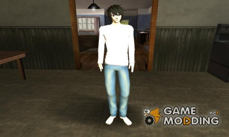L Lawliet (Death Note) for GTA San Andreas