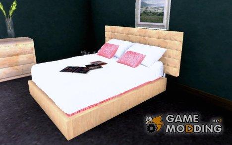 Новая кровать Си-Джея. for GTA San Andreas