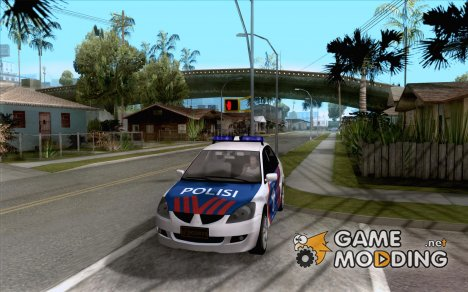Mitsubishi Lancer Police Indonesia for GTA San Andreas