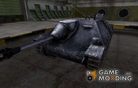 Темный скин для Hetzer для World of Tanks