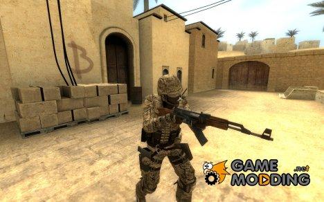 Desert Marine CT для Counter-Strike Source