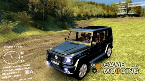 Mercedes Gelenwagen G500 для Spintires DEMO 2013