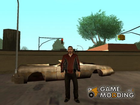 Скин из GTA 4 v14 for GTA San Andreas