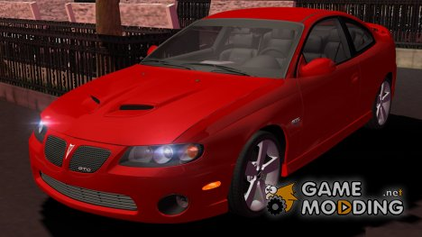 Pontiac GTO 2006 для Street Legal Racing Redline