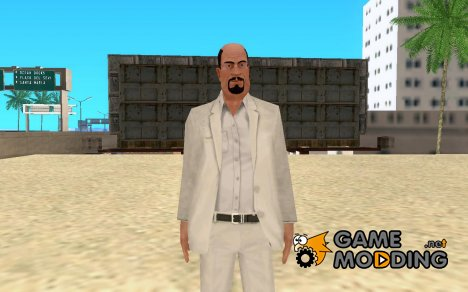 Джозеф Клэренс из Hitman: Blood Money для GTA San Andreas