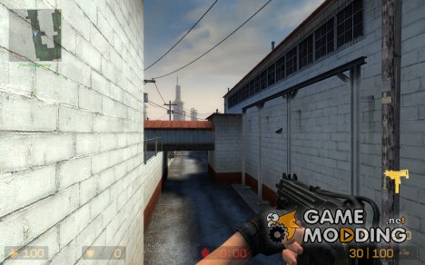 Snake Mac-10 для Counter-Strike Source