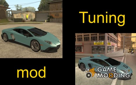 Tuning Mod (Junior_Djjr) для GTA San Andreas