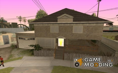 CJ Total House Remode for GTA San Andreas