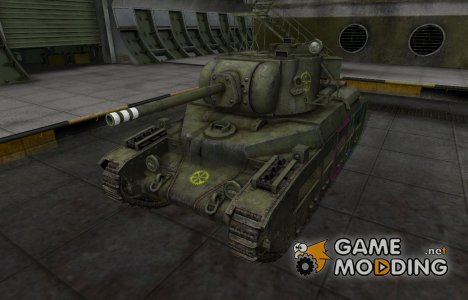 Контурные зоны пробития Матильда IV for World of Tanks