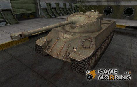 Пустынный французкий скин для Lorraine 40 t для World of Tanks