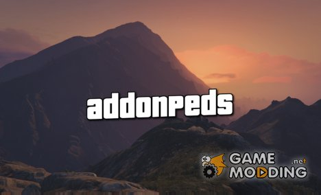 AddonPeds 3.0.1 for GTA 5