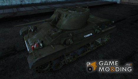Шкурка для танка M22 Locust for World of Tanks