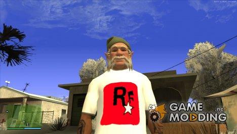 Футболка моего канала HD для GTA San Andreas