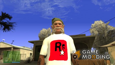 Футболка моего канала HD for GTA San Andreas