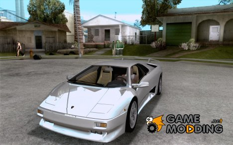 Lamborghini Diablo VT 1995 V2.0 for GTA San Andreas